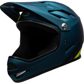Bell Sanction Casque, matte blue/hi-viz